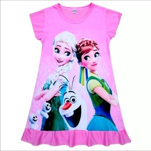 NWT Frozen Pink or Blue Nightgown